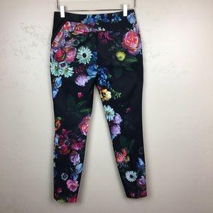 Ted Baker London Pants - Ted Baker London floral trousers pants slacks sz 1